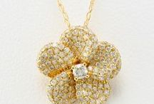Delightful Diamond Necklaces & Earrings / Give her diamonds that always fit, in a necklace!