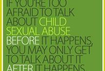 Child Abuse Awareness & Prevention Information / Learn more, do more.  Because child safety matters to us all.