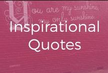 Inspirational Quotes / Words that are inspiring and force us to stop for a brief moment to contemplate. Featuring sassy quotes, sarcastic quotes, quotes about entrepreneurship, marketing quotes and quotes from smart and fabulous women.