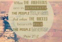 Bible scriptures / Christian quotes