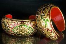Jewelry and Accessories / 24 Carat Gold Embossed Handcrafted Jewelry and Accessories from the house of Urjat Utsav