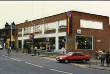 C&A UK Stores Past / A collection of C&A stores in the UK before they all closed in 2001