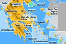 Greek Islands / #Greece #Islands From the largest Island of Crete to Lesvos and Rhodes, the Cyclades to the Dodecanese, the North Aegean Islands to the Ionian Islands and the small islands of the Sporades to the Argo-Saronic Islands.