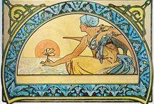 Mucha, Art Nouveau