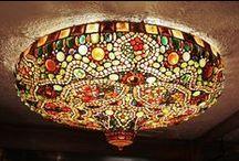 Tiffany, Emile Gallé lámpák