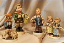 Porcelán és kerámia figurák