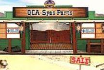 QCA Spa Parts / QCA Spa hot tub parts and accessories.
