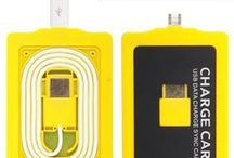 Chargers & Cables / This Board about Chargers & Cables .Sync & Charge Cable & Connectors by Studio-Y