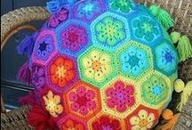 Crochet Pillows & Cushions