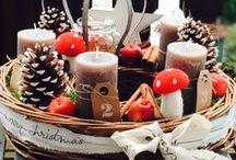 Christmas Decorations, Paper Art and Gift Wrapping / Hier findest du Dekorative Ideen für dein Weihnachtsfest unter anderem mit und aus Papier