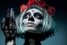 Dia Del Los Mueltos / Day of the Dead (Spanish: Día de Muertos) is a Mexican holiday celebrated throughout Mexico and around the world in other cultures. The holiday focuses on gatherings of family and friends to pray for and remember friends and family members who have died. / by Lora Meza
