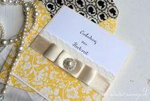 Wedding Moodboard Yellow & Grey / Ideenboard für Hochzeiten in Gelb, Glamour, Eleganz, Festlichkeit, Handgefertigte Hochzeitseinladungen, Hochzeitspapeterie,