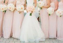 Wedding Moodboard Pink & Rose / Ideenboard für Hochzeiten in den Farben Pink & Rose, Pfirsich, Peach,