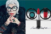 IRIS APFEL / Founder, owner and designer of OLD WORLD WEAVERS her textile company. Started designing her own fashion line at the age of 90. Her designs are fashioned after her travels and collections from around the world. Her designs add EXCITEMENT and make BOLD statements! She's also NYC's fashion muse!  / by Vee Ivie