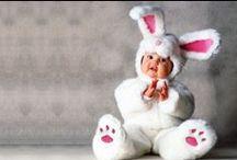 Pâques / Pâques et ses lapins au chocolat mais pas que... Découvrez nos idées DIY et déguisements bébés pour préparer cette fête gourmande !