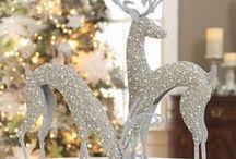 Christmas decor - silver