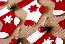 Christmas decor - red
