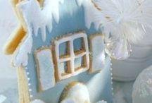 Christmas decor - blue