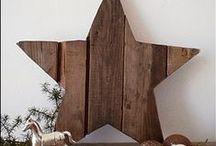 Christmas decor - brown