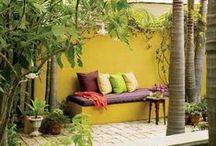 Jaune / Yellow / Inspirations déco pour la maison utilisant le jaune