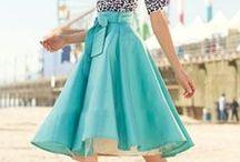 Jupes / Vous souhaitez une jupe sur mesure. Puisez votre inspiration parmi ces modèles et contactez Trésya pour réaliser votre création.