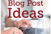 Blogging Tips / Tips to get your blog off on the right foot, grow your online business, and succeed in the crazy world of online businesses.