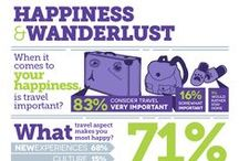 Travel Infographics / Infographics to help travelers. A great way to absorb information.