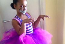 Alice in Wonderland Cheshire Cat - mad hatters tea party costume and face paint idea / Alice in Wonderland Cheshire Cat - mad hatters tea party costume and face paint idea