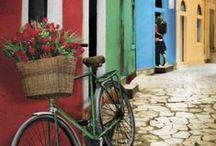 A bicyclette - Un vélo dans la déco