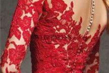 RED *dress*