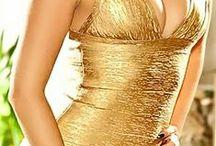 GOLD *dress*