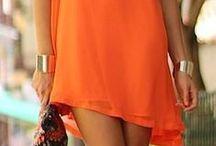 ORANGE *dress*