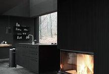 Simply Black/Interior Design / don't be afraid