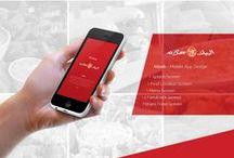 iOS/Andriod App Screen Designs