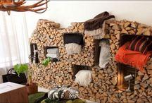 storage bois de chauffage