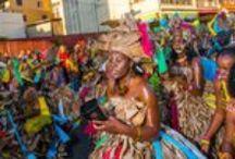 Carnaval 2016 / Élément essentiel du patrimoine culturel Martiniquais , le Carnaval prend naissance dans une société esclavagiste marquée par le brassage de cultures et d'ethnies. Il représente un formidable moment à vivre, parce que pulsé par une hymne à la joie, à la vie, à l'expression libre. Le carnaval de Martinique se distingue par des thèmes et des couleurs spécifiques pour chacun des jours gras : un savant mélange de spontanéité et d'organisation.