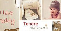 Collection - Tendre Nounours / Craquez pour la nouvelle collection linge de lit automne hiver 2016/2017 avec le thème Tendre Nounours (tour de lit, gigoteuse et accessoires)