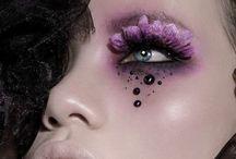 Colourful Makeup / Beauty Shots using Colourful Makeup