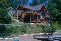 Beautiful Custom Lake Homes at Innsbrook / The perfect place for your vacation lake home or the place you call home everyday. http://www.innsbrook-resort.com/real-estate/communities/homes