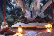 Relaxing spaces / Spaces I could imagine spending a relaxing afternoon or 2