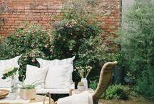 Jardins, varandas e terraços