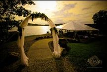 Lakeside Wedding / One of Innsbrook's most popular wedding venues is the Lake Aspen Stage, which overlooks 150-acre Lake Aspen in Innsbrook, MO.  www.innsbrook-resort.com