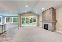 Framing Details / Vaulted ceilings, coffered ceilings, exposed beams, open entries and more