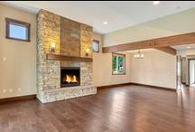 Fireplaces | By GNW / Fireplaces and built-in entertainment centers