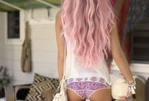 hair / lovely hair which i'd like to have, but i wont because my hair is shit.