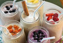Easy breakfast / Easy breakfast and smoothie recipes to make ahead.
