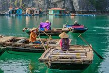 Travel to South East Asia / Places to visit on my next trip to Vietnam, Cambodja and Thailand!