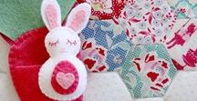 Bitty Bunnies Pattern from Molly and Mama / All the items posted on this board are made from the Molly and Mama 'Bitty Bunnies' pattern, found in the Molly and Mama store - www.MollyandMama.etsy.com