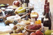 Wine Cheese n Salad