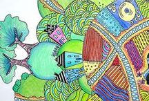 Zentangle Worlds
